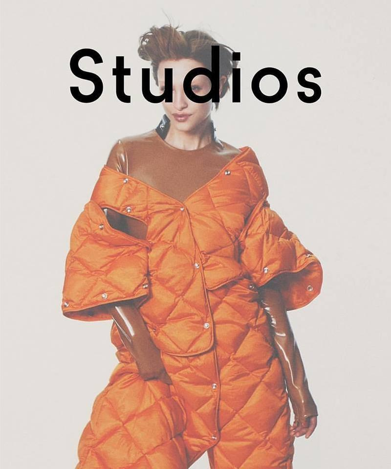 Lera Abova by David Sims for Acne Studios Autumn/Winter 2016 Campaign