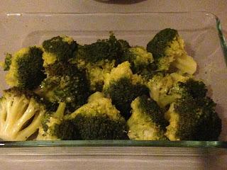 Brócoli a la crema, preparación 1