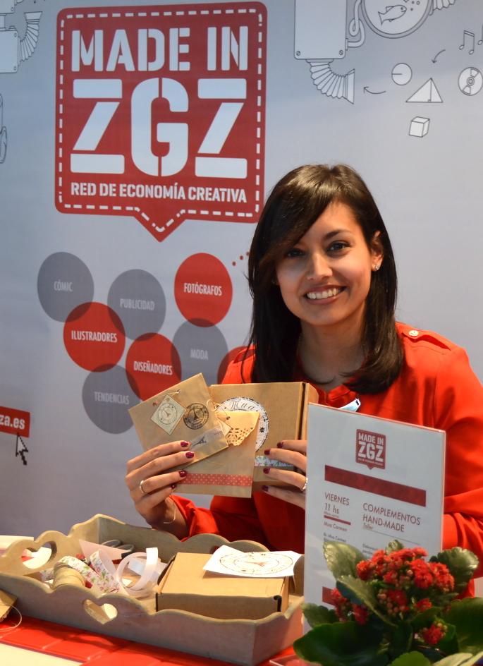 Feria Creativa de Zaragoza.