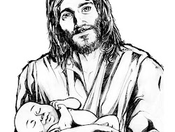 jesus holding drawing drawings child lamb clipart god pencil children face care draw sketches realistic simple lion heart christ line