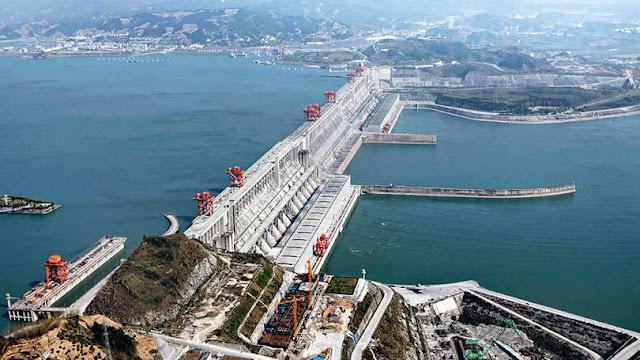 Hidroelétrica Três Gargantas na China