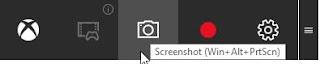 cara screenshot di laptop menggunakan game bar
