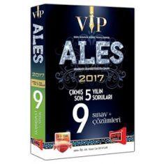 Yargı Yayınvi ALES VIP Son 5 Yılın Çıkmış 9 Sınav Soruları ve Çözümleri (2017)
