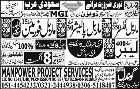 Jobs In Gondal Trade Test And Training Centre 19 Jul 2018