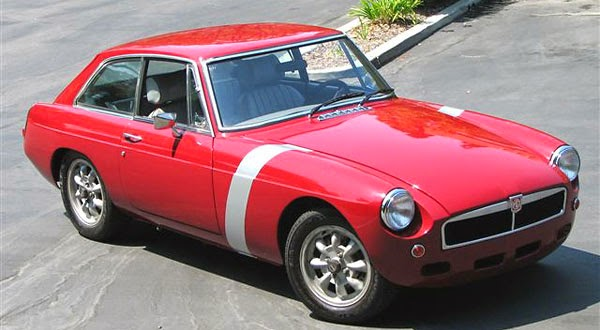 Daily Turismo: 10k: Modestly Awesome: 1974 MGB GT Rover V8