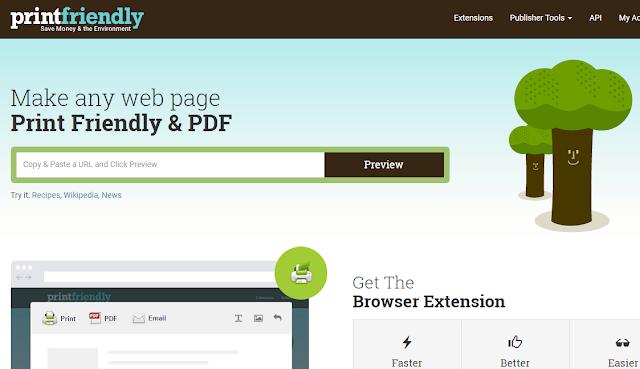طريقة طباعة أي صفحة من الانترنت بشكل مرتب وبسيط