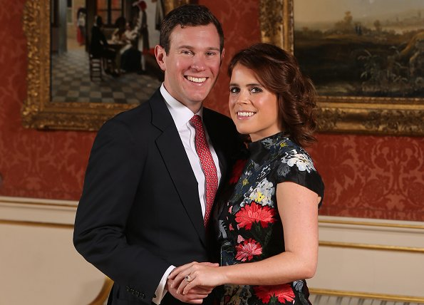 Wedding date of Princess Eugenie and Jack Brooksbank. Princess Eugenie's wedding dress