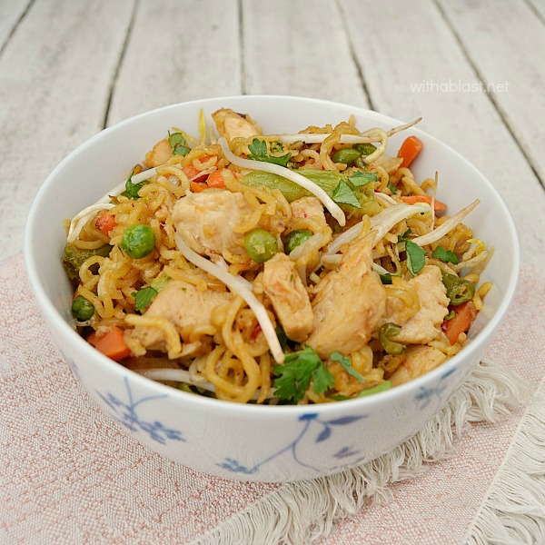 Chicken Chop Suey ~ Restaurant quality Chicken Chop Suey made in less time than it will take to have an order delivered ! Fresh, crunchy and tasty !