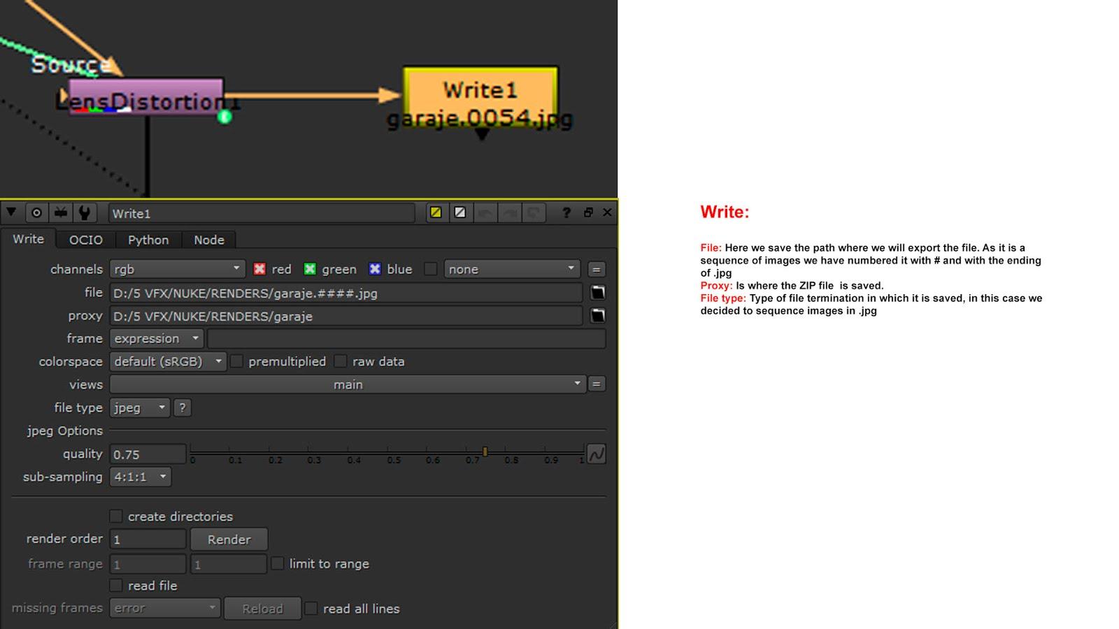 KIVA011: VFX NUKE
