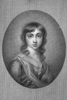 Sir Thomas Lawrence as a boy  from The Life and Correspondence of Sir   Thomas Lawrence by DE Williams (1831)