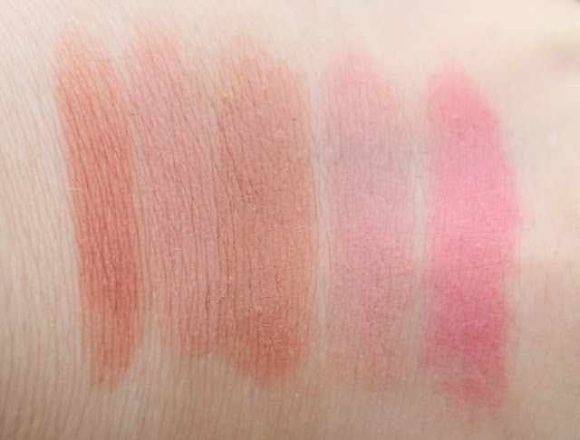 Freedom Makeup London pro bare lipstick swatches