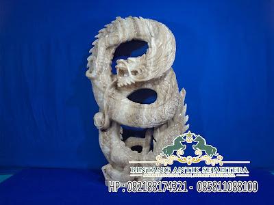 Jual Patung Naga Batu Marmer | Jual Patung Naga