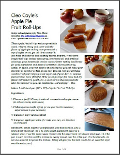 Cleo coyle recipes a writers snack easy apple sauce fruit to get this recipe in a free pdf document click here forumfinder Choice Image
