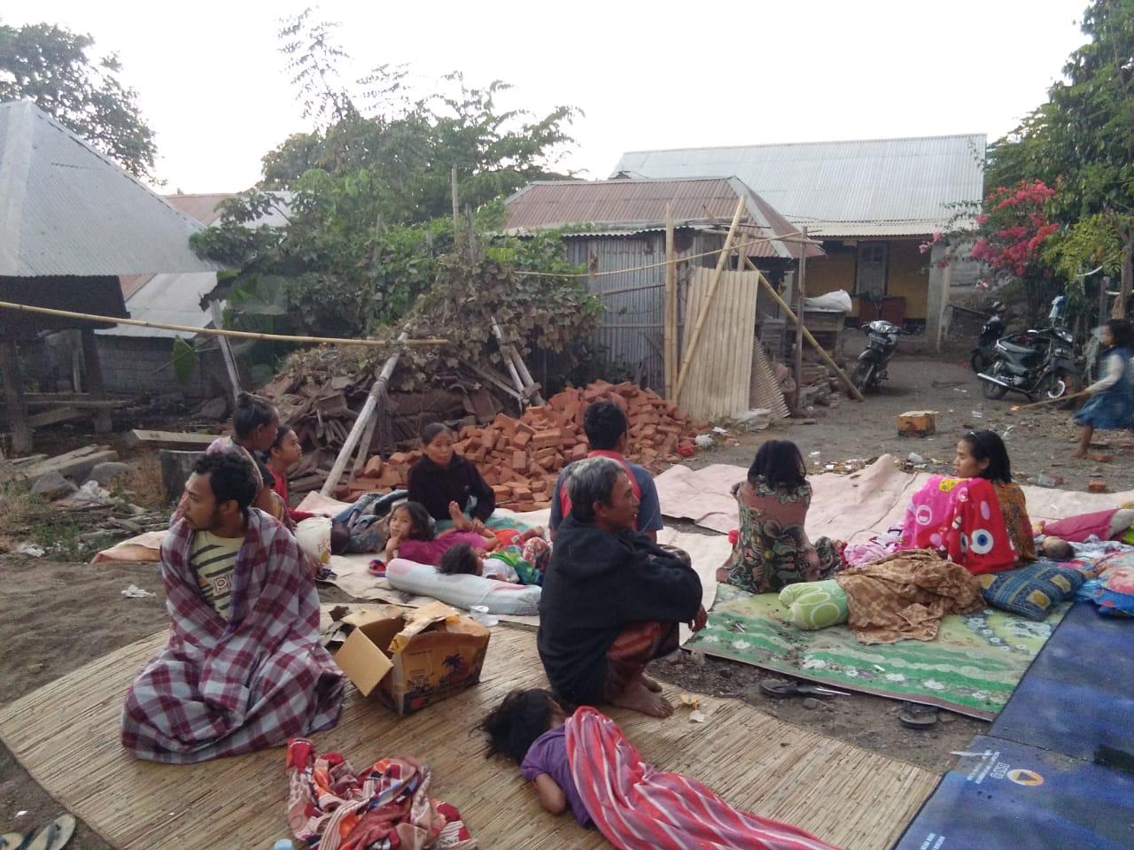 Ya Allah, Begini Kondisi Korban Gempa Lombok Utara