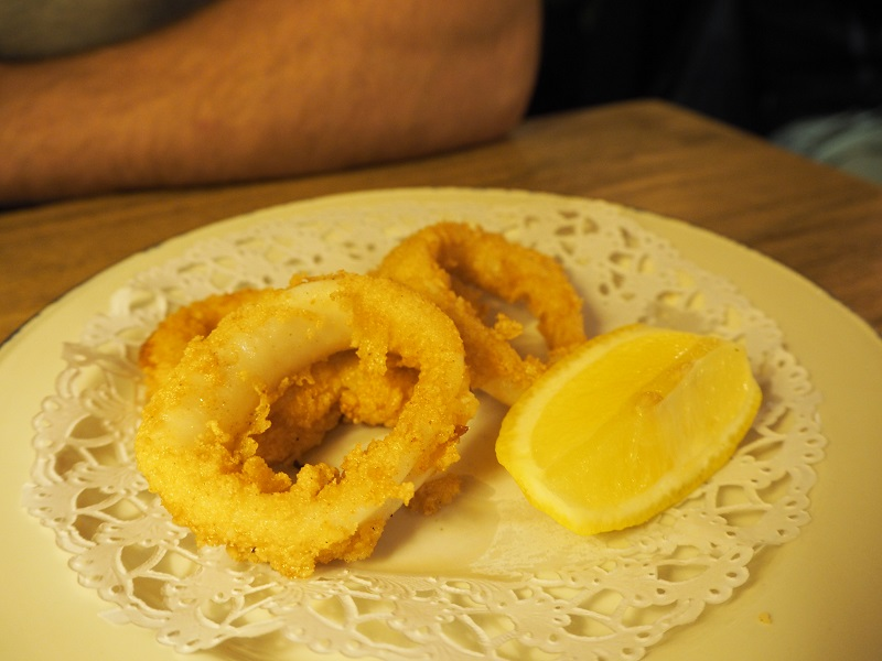 7 great places to eat in Seville - calamari