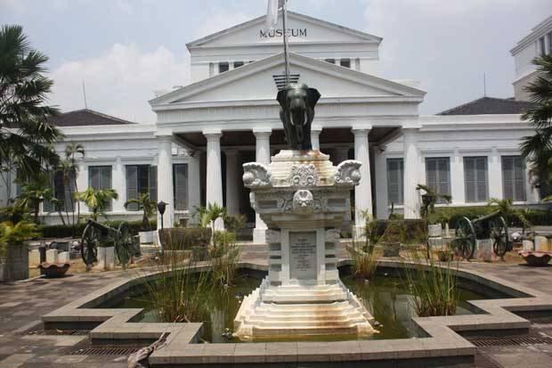 Museum Nasional atau Museum Gajah di Jakarta.