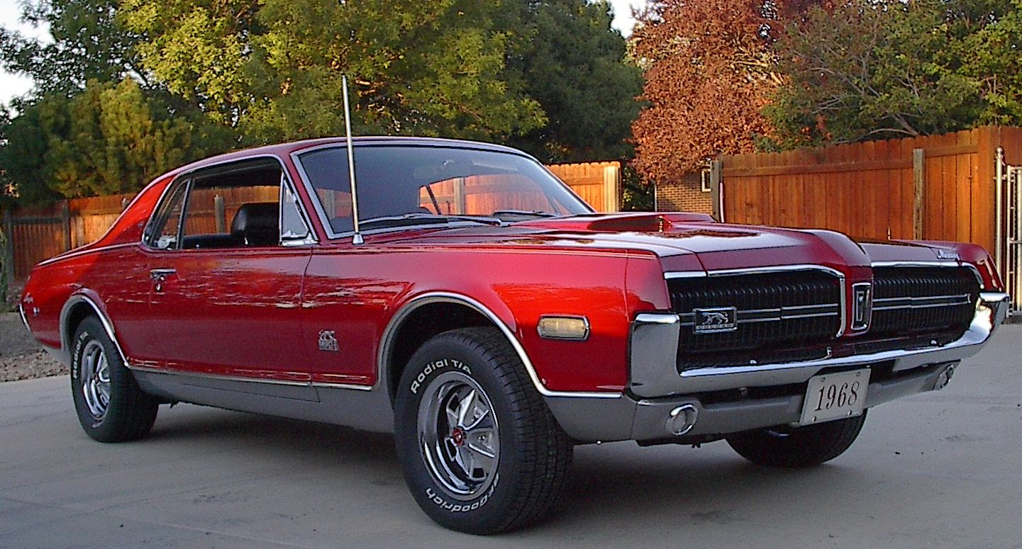 Sexy Sports Cars: 1968 Mercury Cougar