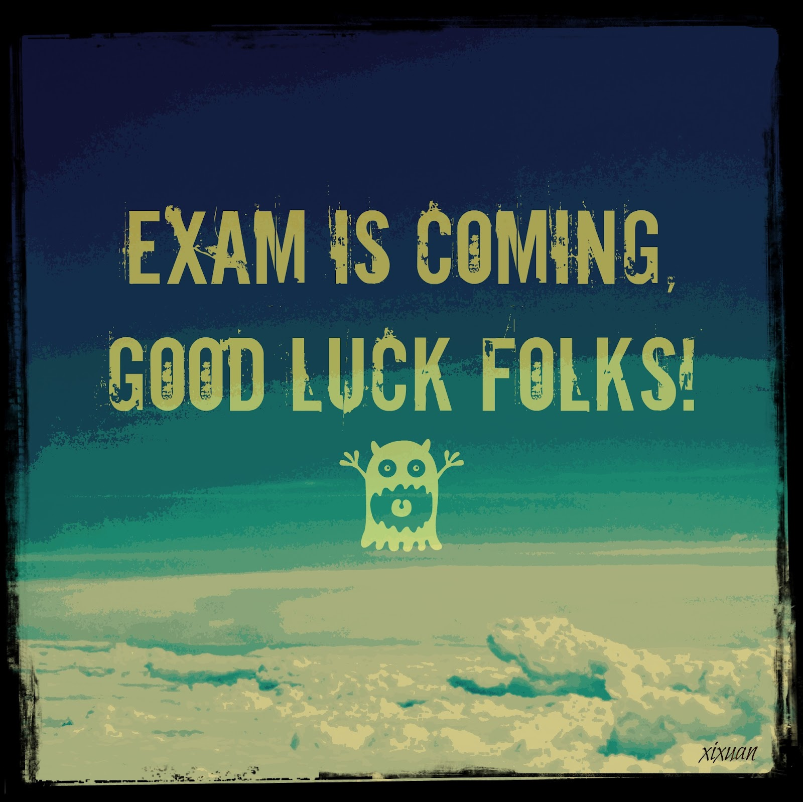 Good Luck On Your Exam Quotes: Good Luck On Test Quotes. QuotesGram