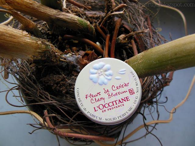L'Occitane – Perfumy w kremie Cherry Blossom – kwiat wiśni [recenzja]