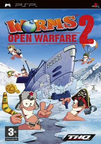 [PSP] Worms Open Warfire 2 download