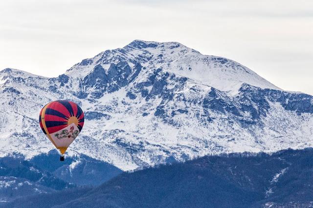tibet mondolè alpi marittime mongolfiera mondovì cuneo piemonte raduno aerostatico epifania 2019