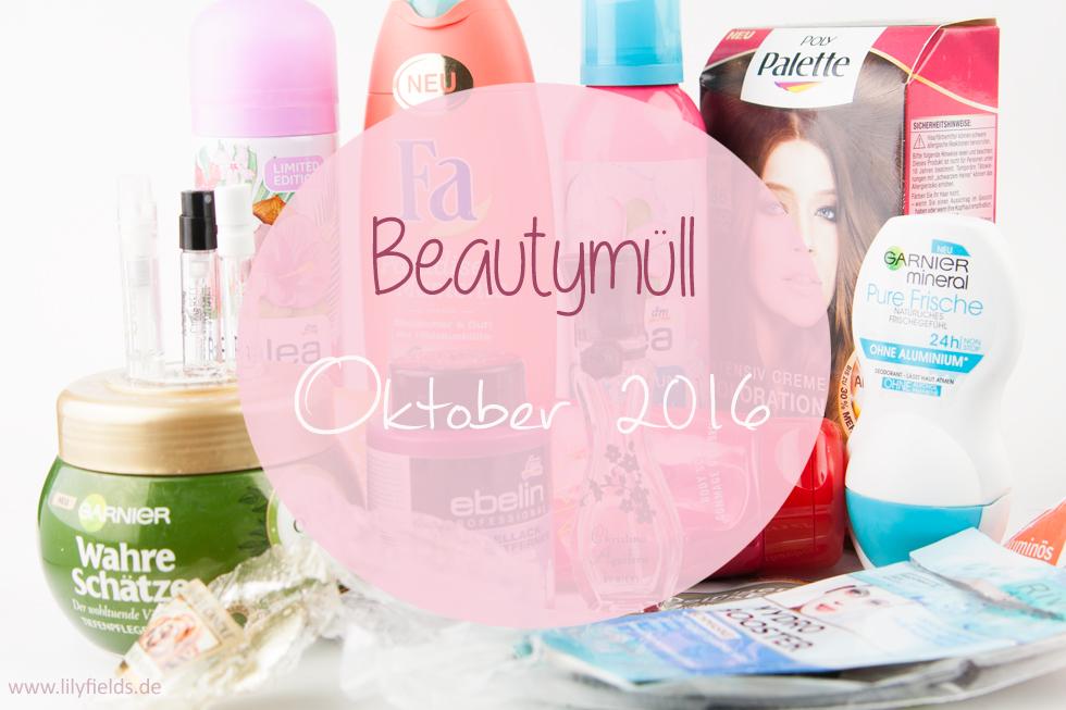 Goodbye Oktober - Beautymüll (aufgebraucht)
