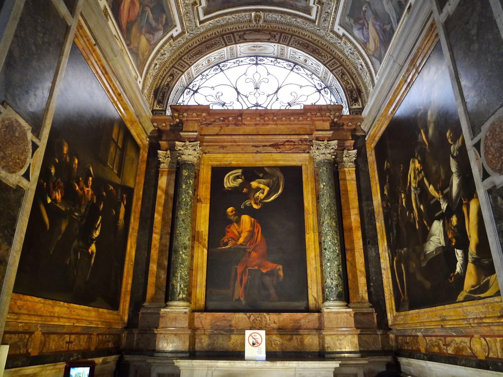 Veni Vidi Vici Churches Full Of Caravaggio