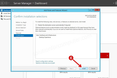 install role in server 2012