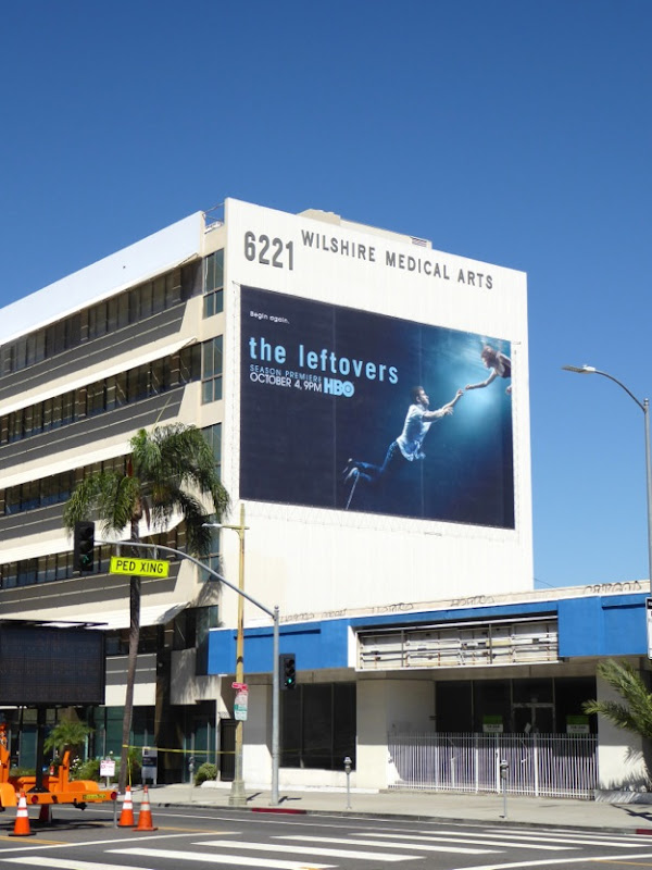 The Leftovers giant season 2 billboard