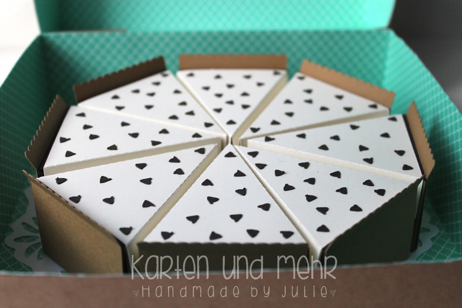 Torte aus Papier