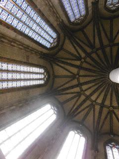 Pilier de 22 m avec voùte en étoiles, 1275- 1290, Toulouse, malooka