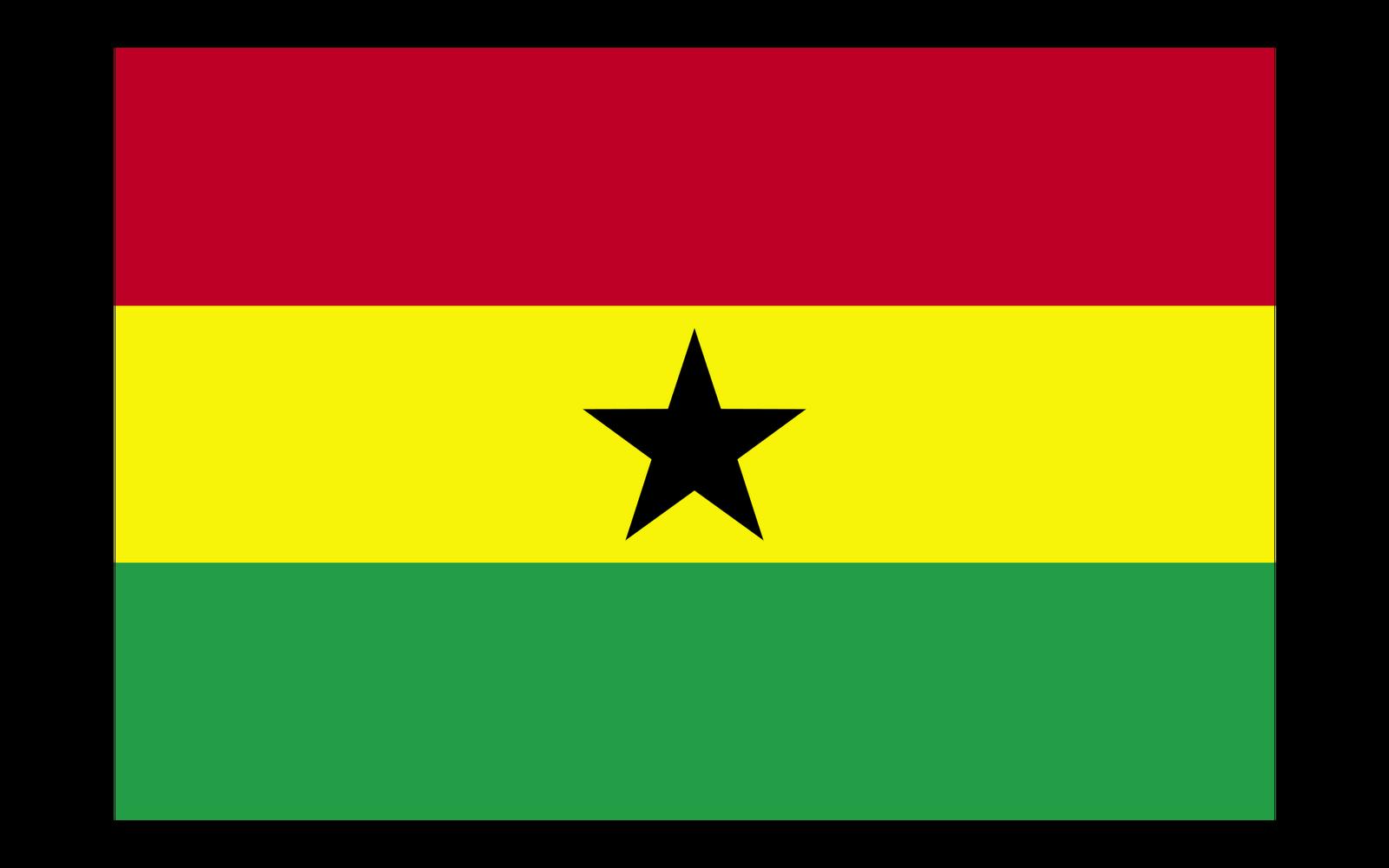World Flags: Ghana Flag hd Wallpaper