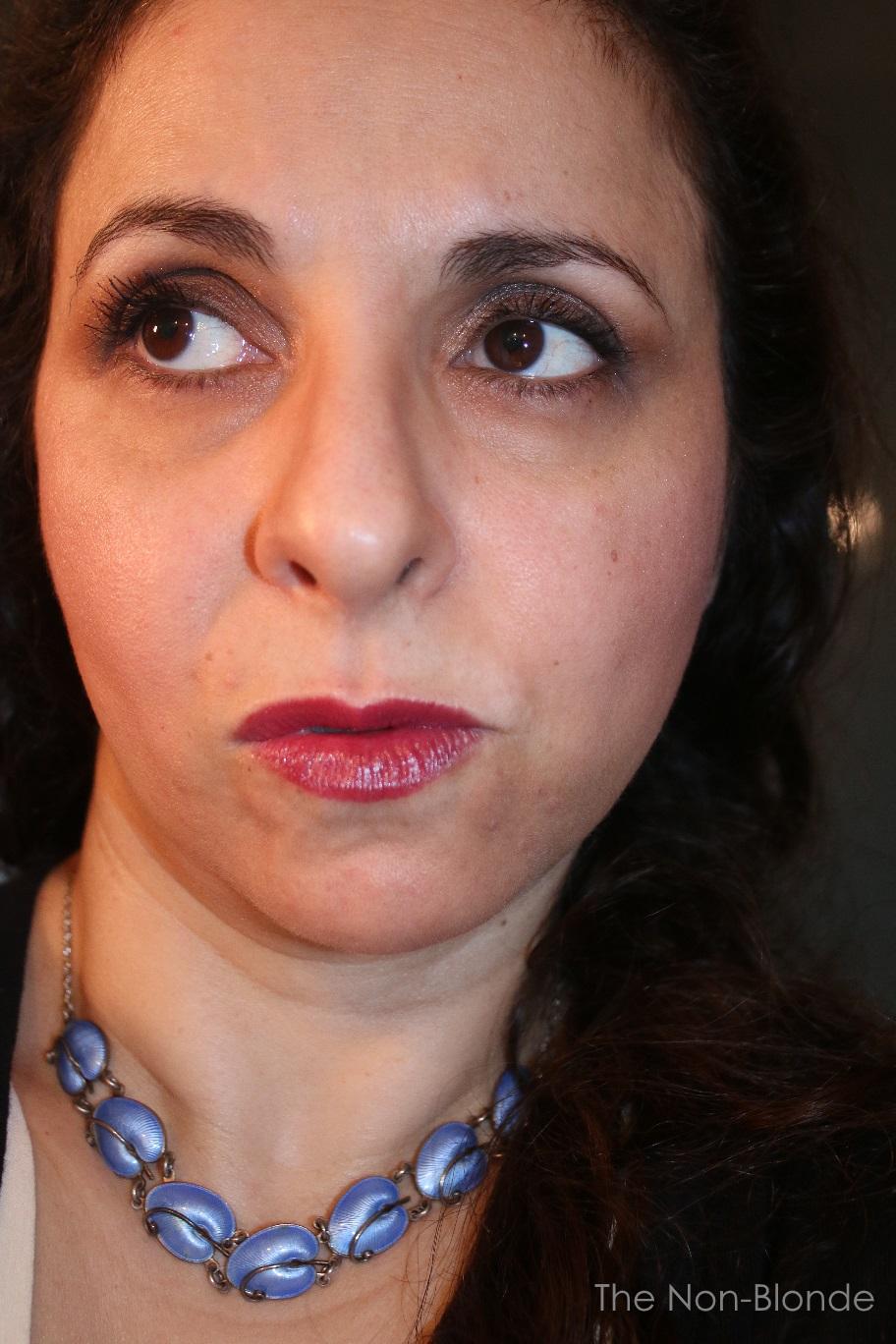 Bad Makeup On Tumblr: FotD: Makeup On A Bad Skin Day
