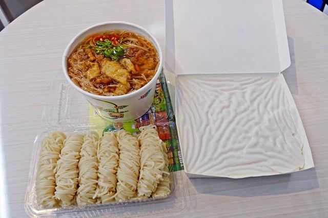 三兄妹麵線飯糰~板橋素食早餐