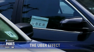 The 'Uber Effect' On The Taxi Industry