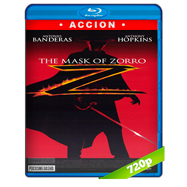 La máscara del Zorro (1998) BRRip 720p Audio Trial Latino-Ingles-Castellano