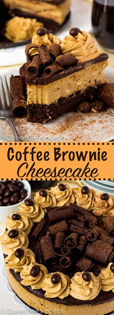 Coffee Brownìe Cheesecake