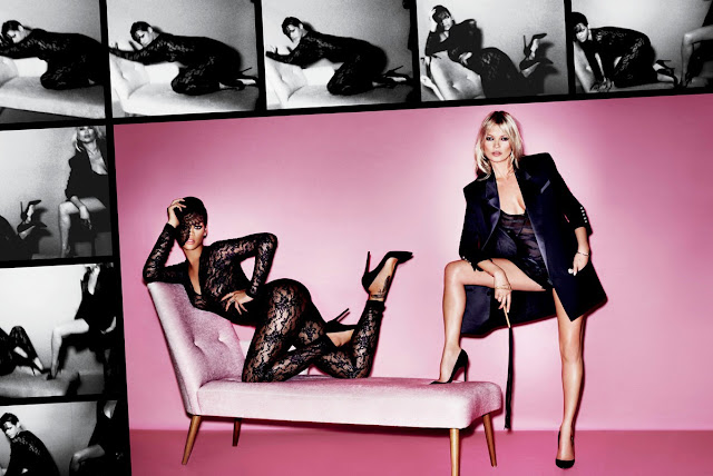 Rihanna & Kate Moss poses for V Magazine (Spring 2013)