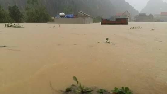 Toàn cảnh lũ lụt tại Ninh Bình và hoạt động cứu trợ tại Thanh Hoá - Ảnh minh hoạ 6