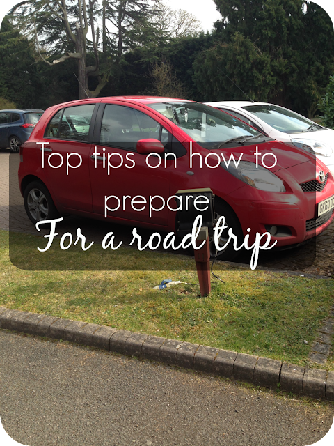 what preparation do i need to take before a road trip