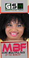 Most Beautiful Face Of The Moment, MBF November Edition 2016. On Glaring Star World (GSW)