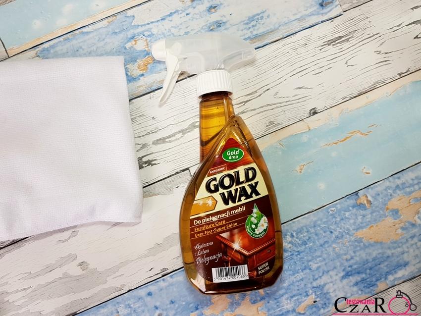 Gold Wax Preparat do pielęgnacji mebli w sprayu Gold drop