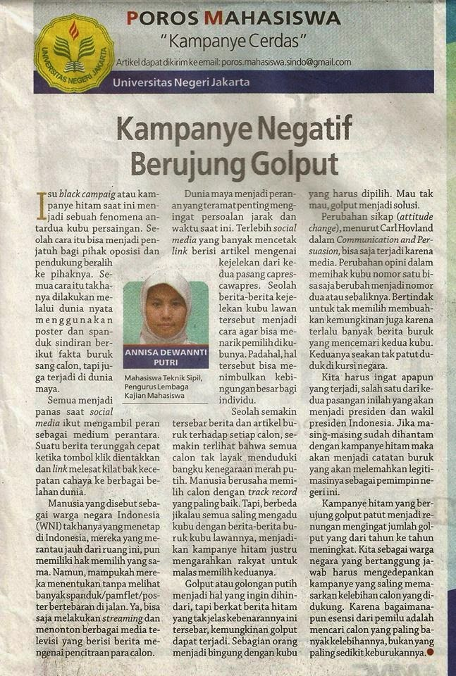 Re Write And Re Sketch Saat Pertama Tulisan Terbit Koran Sindo