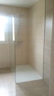 salle de bain réalisée à Echiré 79 par Philpro Carreleur