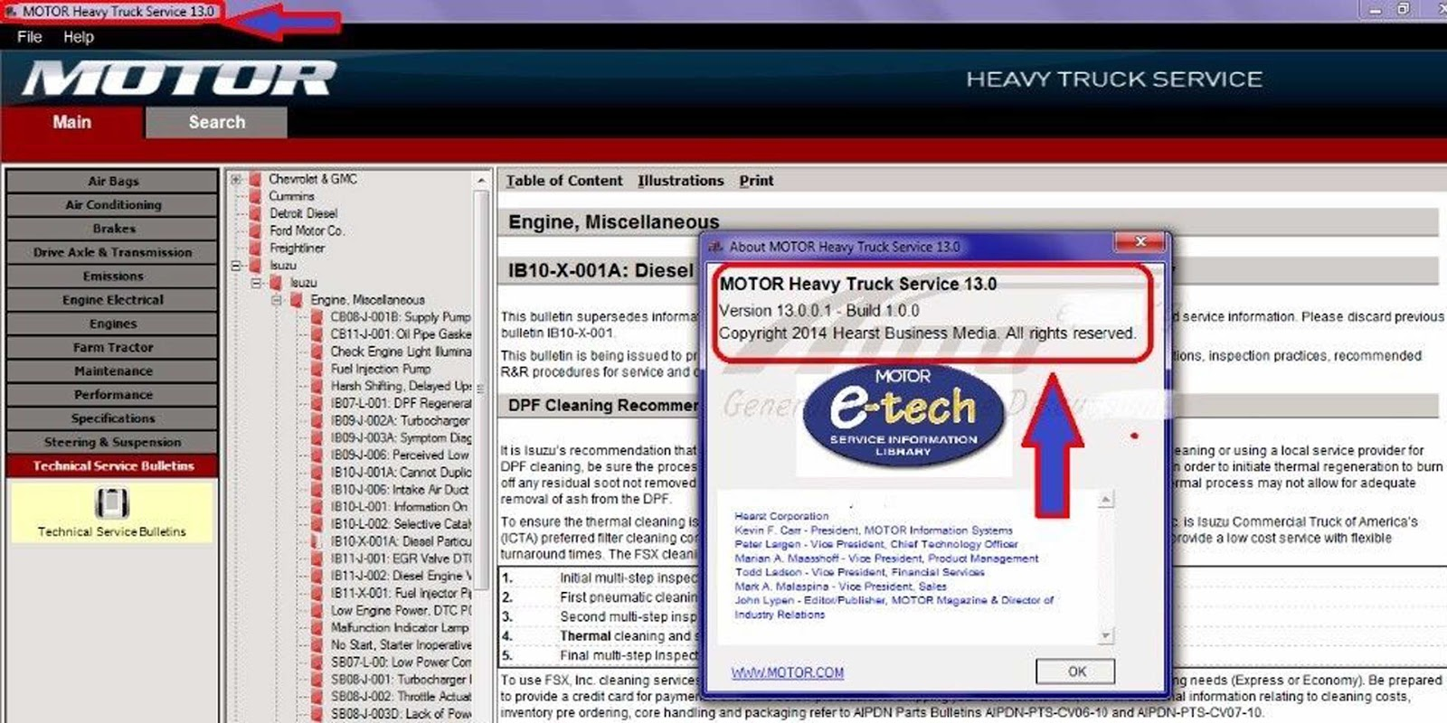 Contemporary Technical Service Bulletin Lookup Images - Electrical ...