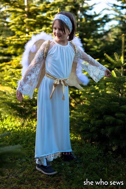Christmas Angel dress-up