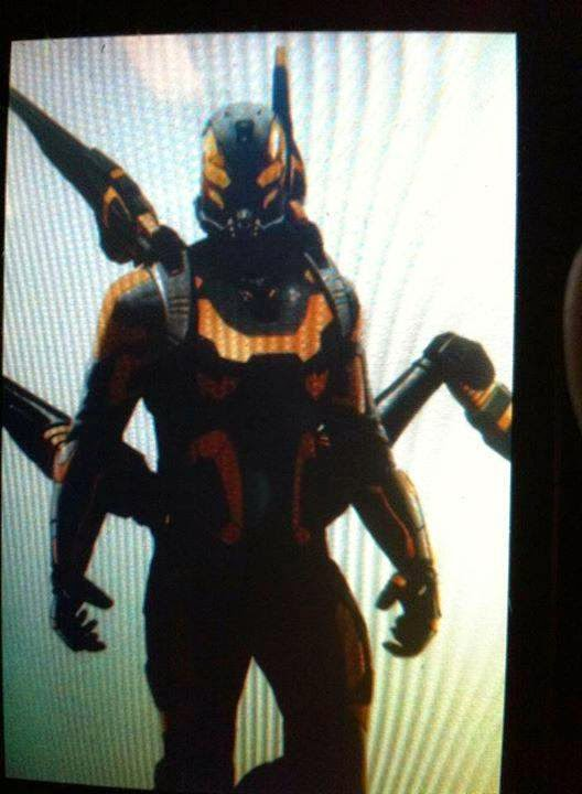 villain Yellowjacket suit from Ant-Man