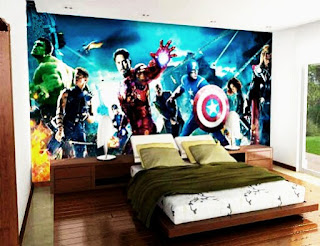 Motif Wallpaper the newest children's bedroom wall