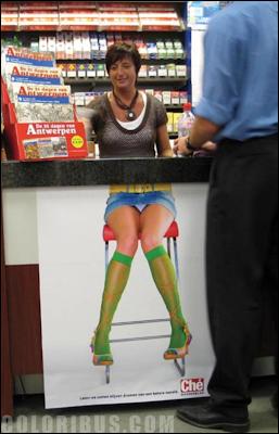 "Fotos Locas: Fotos divertidas: ""Vendedora sexy"""