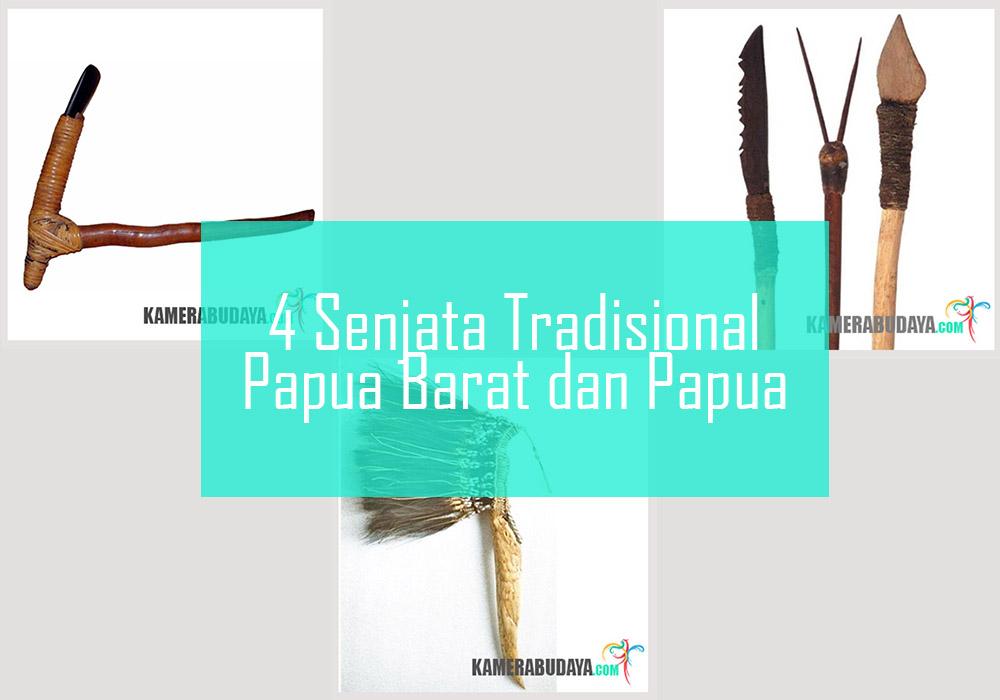 Inilah 4 Senjata Tradisional Dari Papua Barat dan Papua